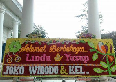 Bunga Papan Jogja - Papan Bunga Pernikahan Bengkulu