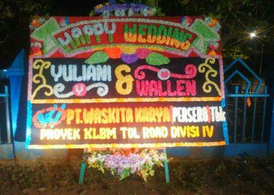 Bunga Papan Jogja - karangan Papan Bunga Pernikahan Bengkulu