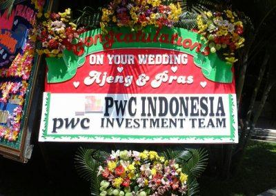 Bunga Papan Jogja Rp. 650.000