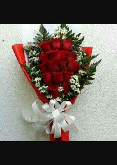 Buket Bunga Mawar, Ungkapan Cinta Pada Si-Dia