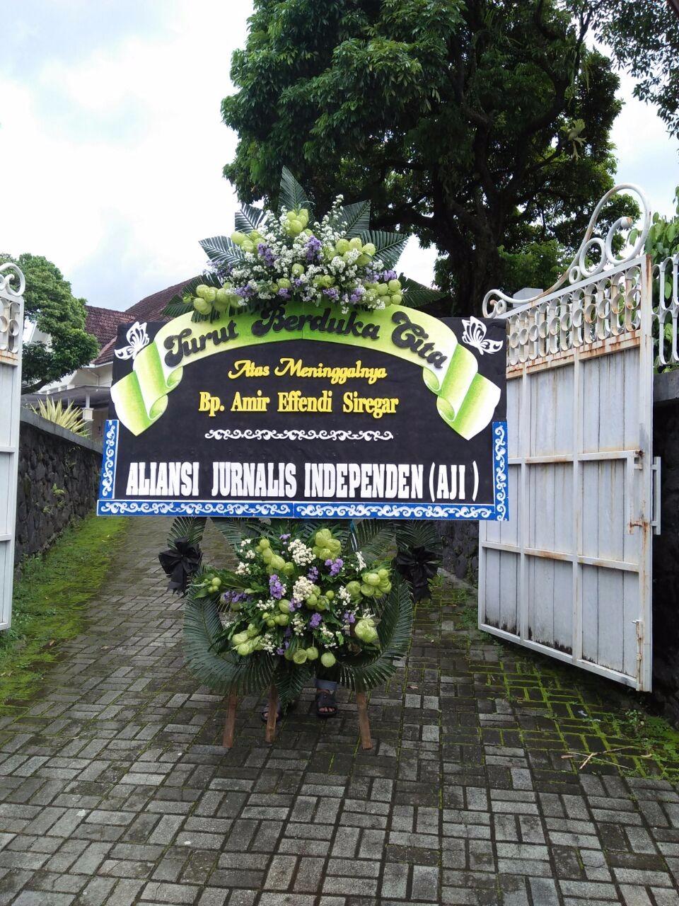 karangan bunga pak purwo yogyakarta